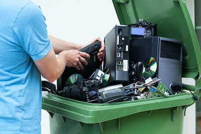 Electronics Disposal Junk Removal in Naples FL