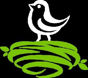 White Bird Green Nest